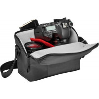 Manfrotto τσάντα ώμου NX για DSLR με επιπλέον φακό - Γκρί [MB NX-SB-IIGY]